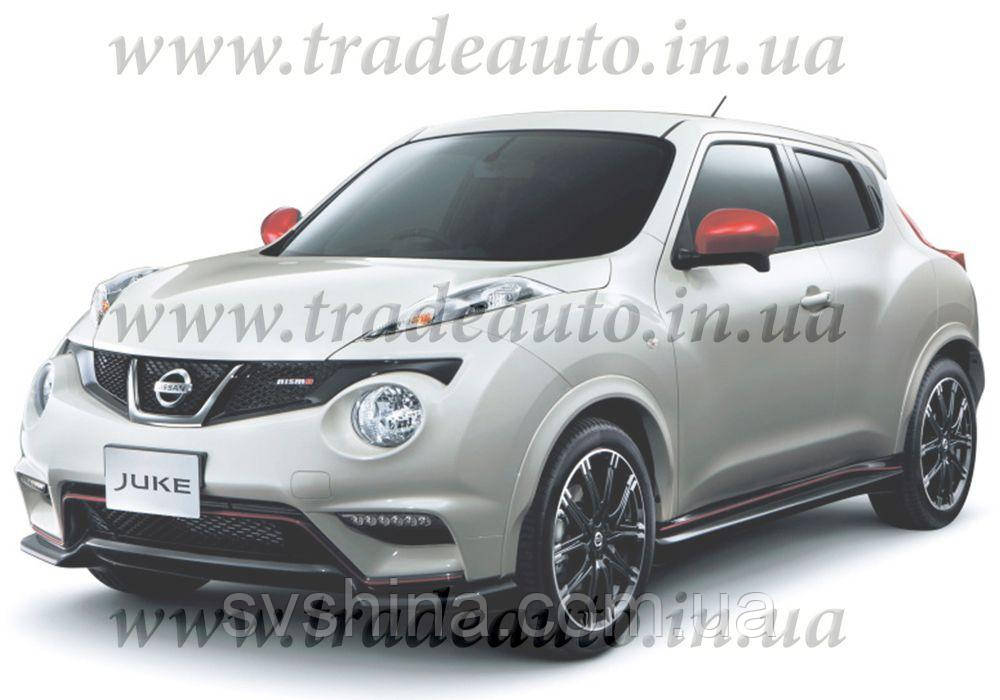 Дефлекторы окон Heko на Nissan  Juke 2010->