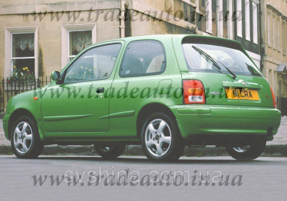 Дефлекторы окон Heko на Nissan  Micra (K11) 1993-2003 3D