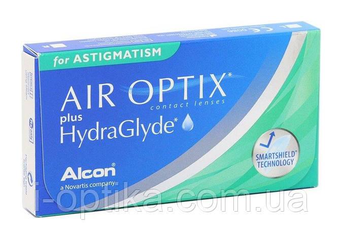 Контактные линзы Air Optix HydraGlyde for Astigmatism, фото 2