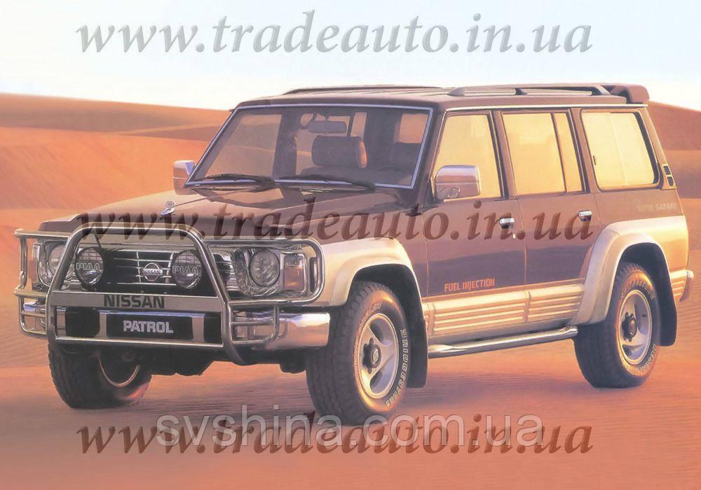Дефлекторы окон Heko на Nissan  Patrol (Y60) 1987-1997
