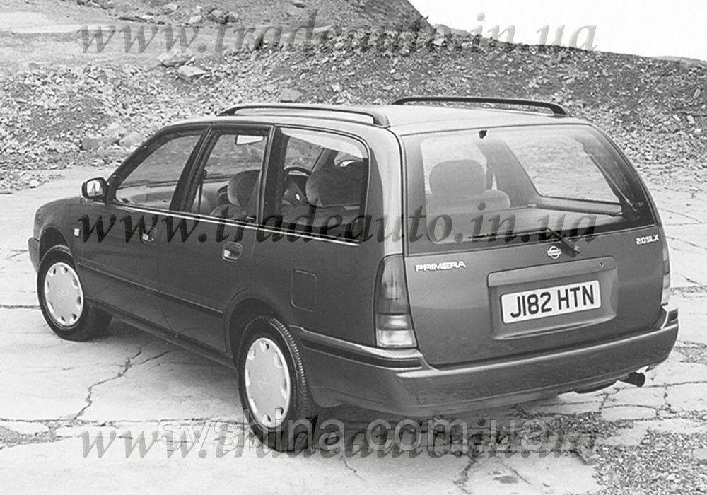 Дефлекторы окон Heko на Nissan  Primera (P10) 1990-1998
