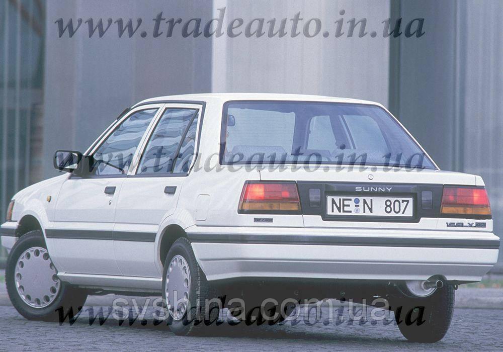 Дефлекторы окон Heko на Nissan  Sunny (N13) 1986-1990