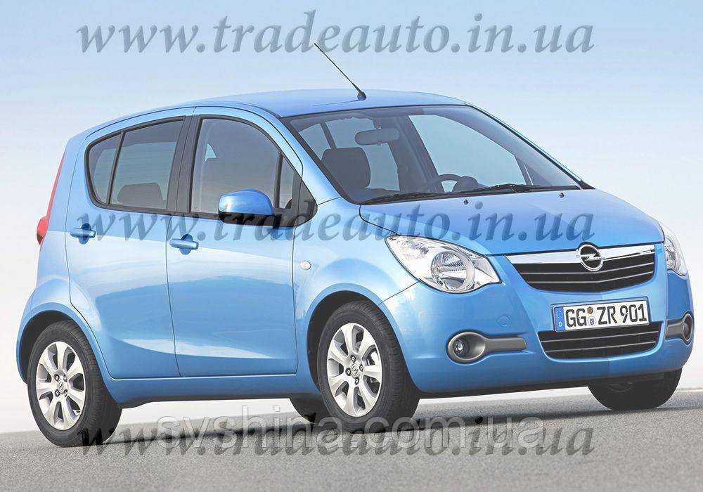 Дефлекторы окон Heko на Opel  Agila B 2008 ->