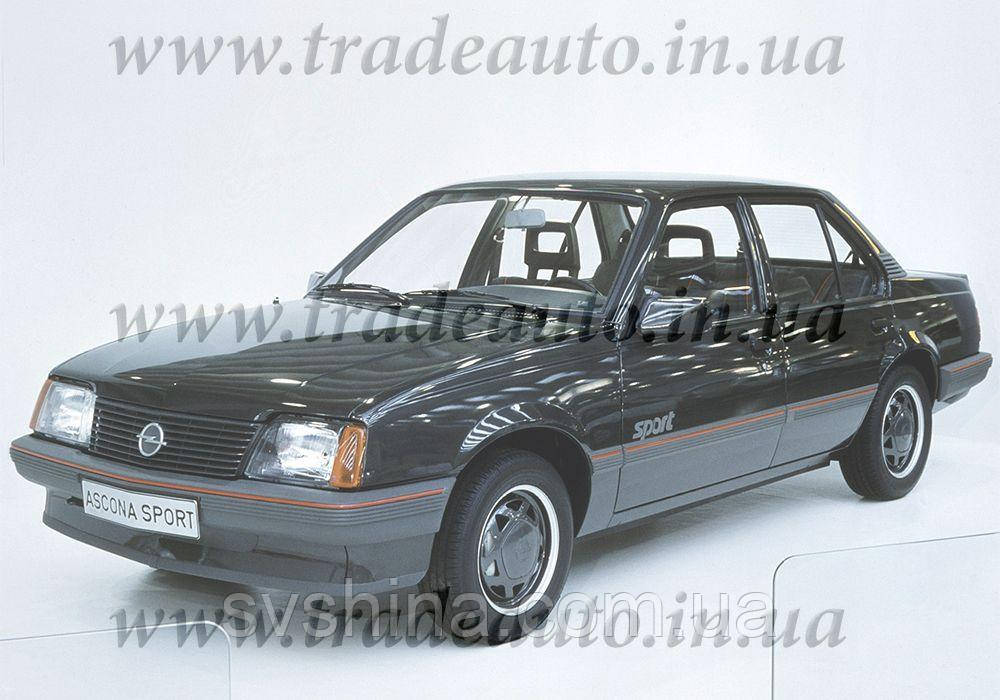 Дефлекторы окон Heko на Opel  Ascona 1981-1988