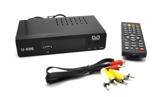Цифровой ресивер U006 metal / тюнер Т2
