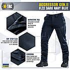 M-Tac брюки Aggressor Gen II Flex Dark Navy Blue, фото 2