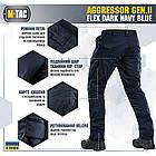 M-Tac штани Aggressor Gen II Flex Dark Navy Blue, фото 6