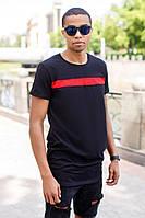Черная футболка мужская, фото 1