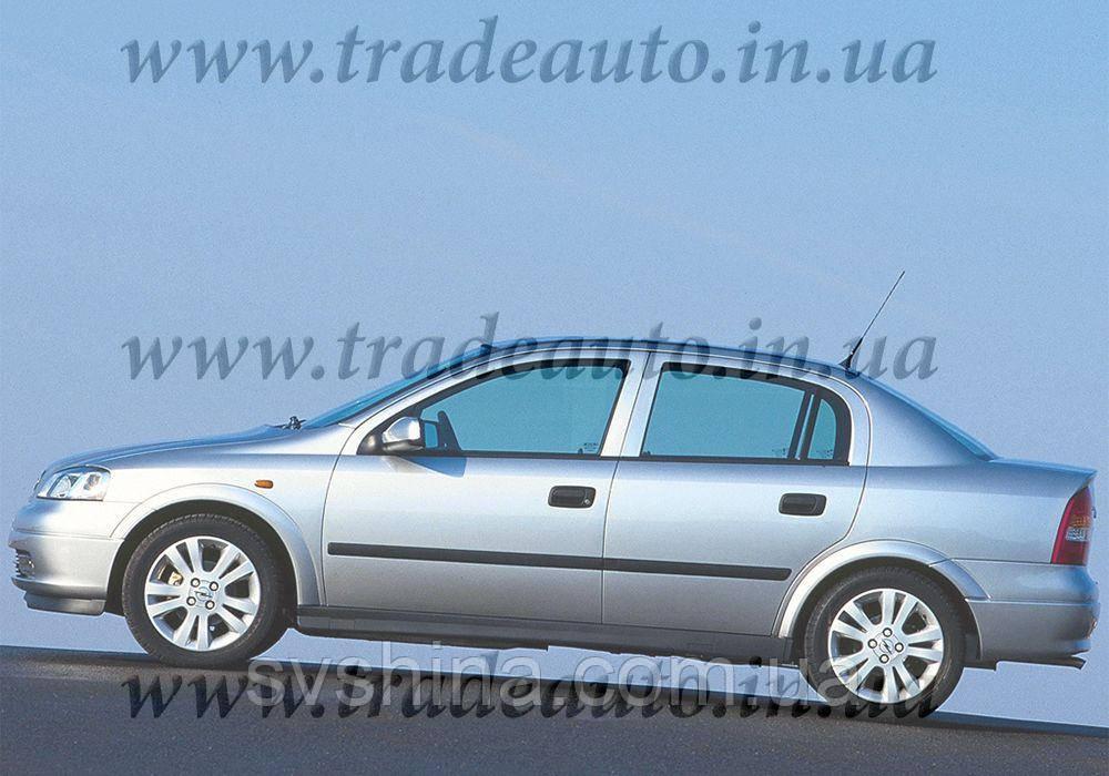 Дефлекторы окон Heko на Opel  Astra G 1998-2009