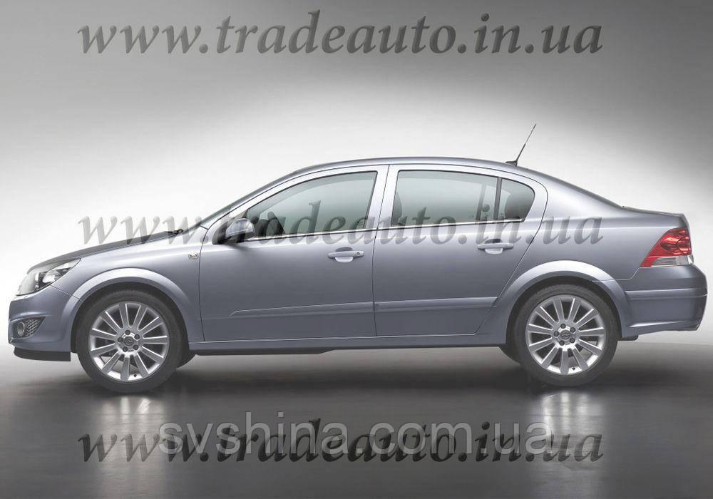 Дефлекторы окон Heko на Opel  Astra H 2004-2012