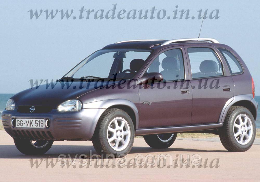 Дефлекторы окон Heko на Opel  Corsa B 1993-2001