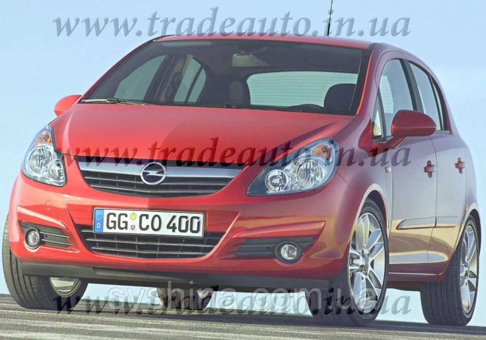 Дефлекторы окон Heko на Opel  Corsa D 2006 ->