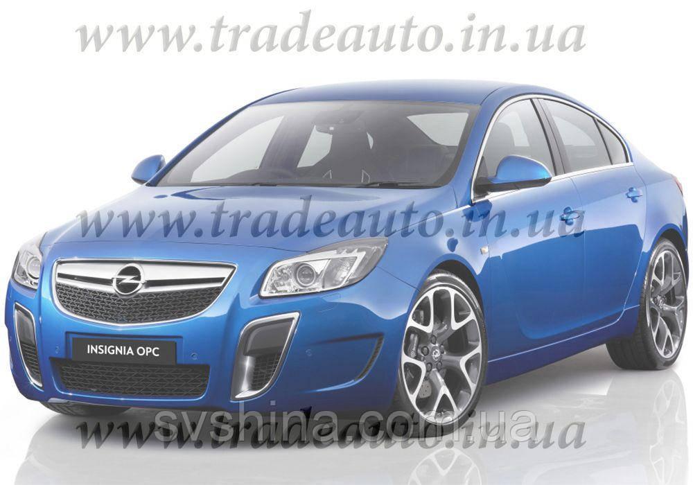 Дефлекторы окон Heko на Opel  Insignia 2009 ->