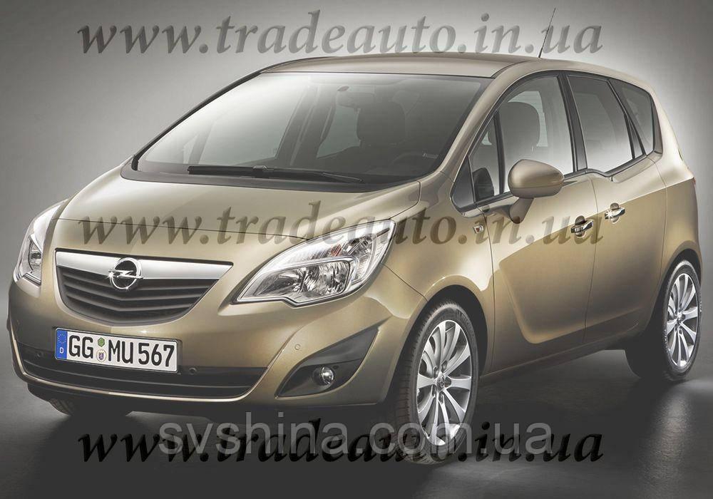 Дефлекторы окон Heko на Opel  Meriva  2010->