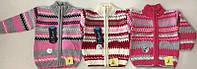 Вязанная кофта для девочки 1-3 года