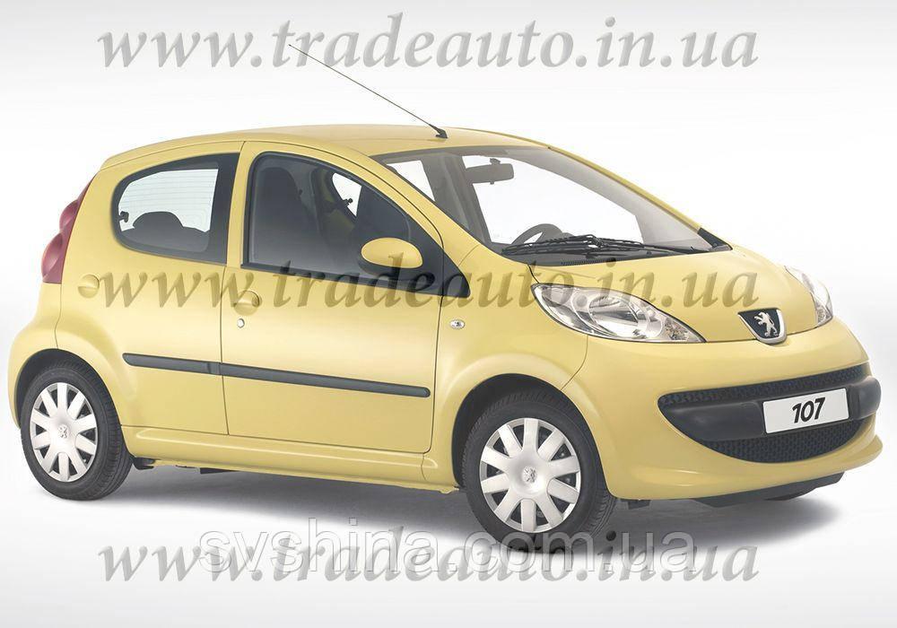 Дефлекторы окон Heko на Peugeot  107 2005->