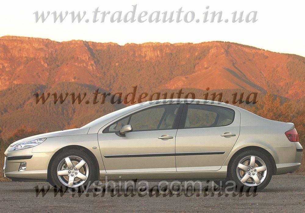 Дефлекторы окон Heko на Peugeot  407 2004->