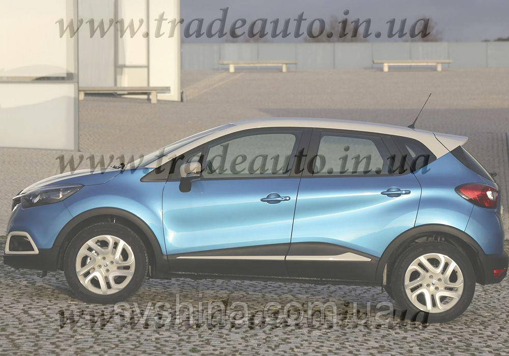 Дефлекторы окон Heko на Renault  Captur 2013 ->
