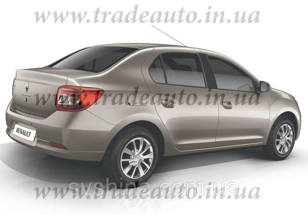 Дефлекторы окон Heko на Renault  Logan 2004->