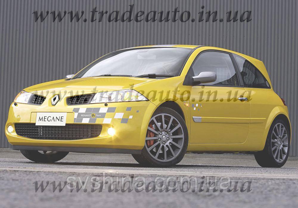Дефлекторы окон Heko на Renault  Megane 2003-2008 3D