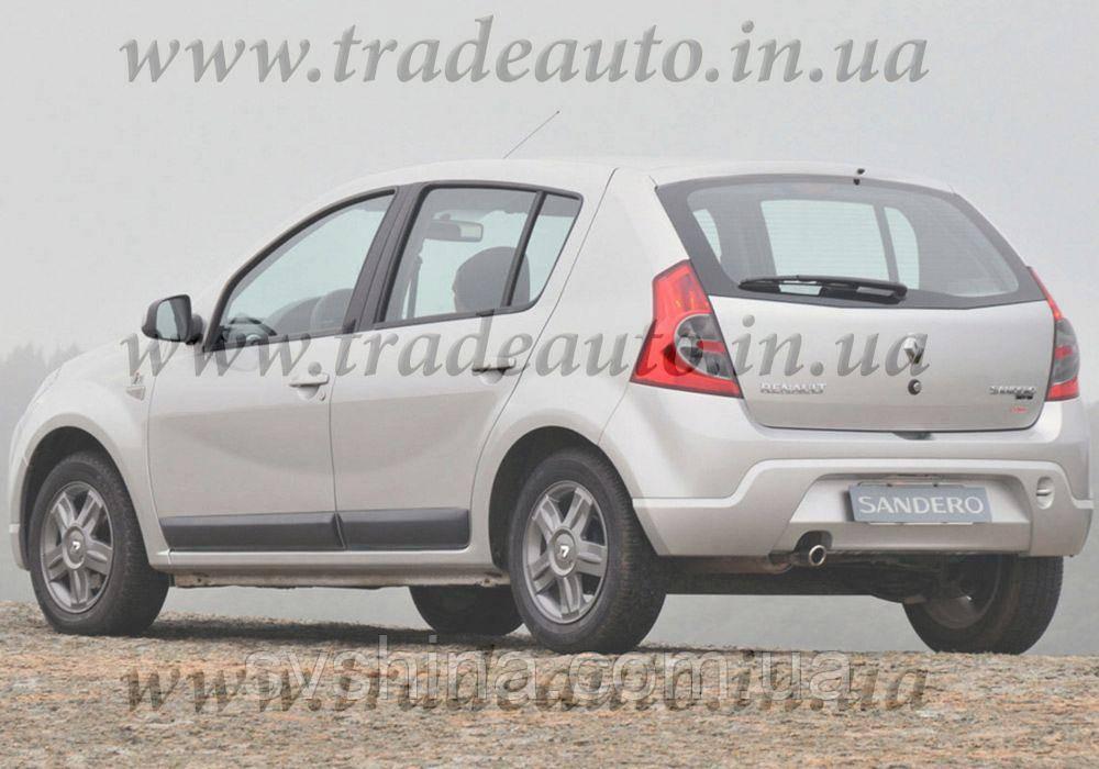 Дефлекторы окон Heko на Renault  Sandero 2008-2012