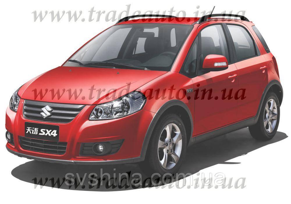 Дефлекторы окон Heko на Suzuki  SX4 2006 -> Hatchback
