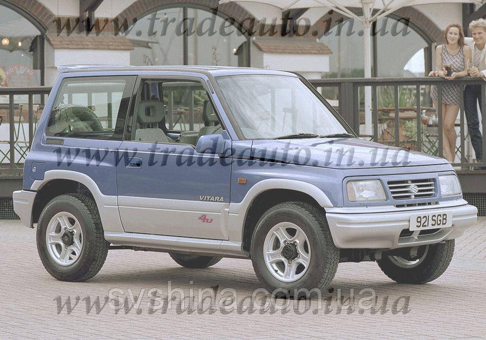 Дефлекторы окон Heko на Suzuki  Vitara 1988-1998 2D