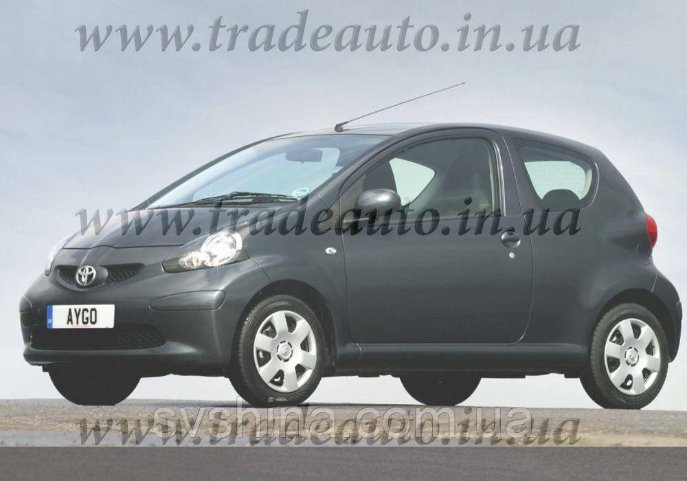 Дефлекторы окон Heko на Toyota  Aygo 2005-> 3D