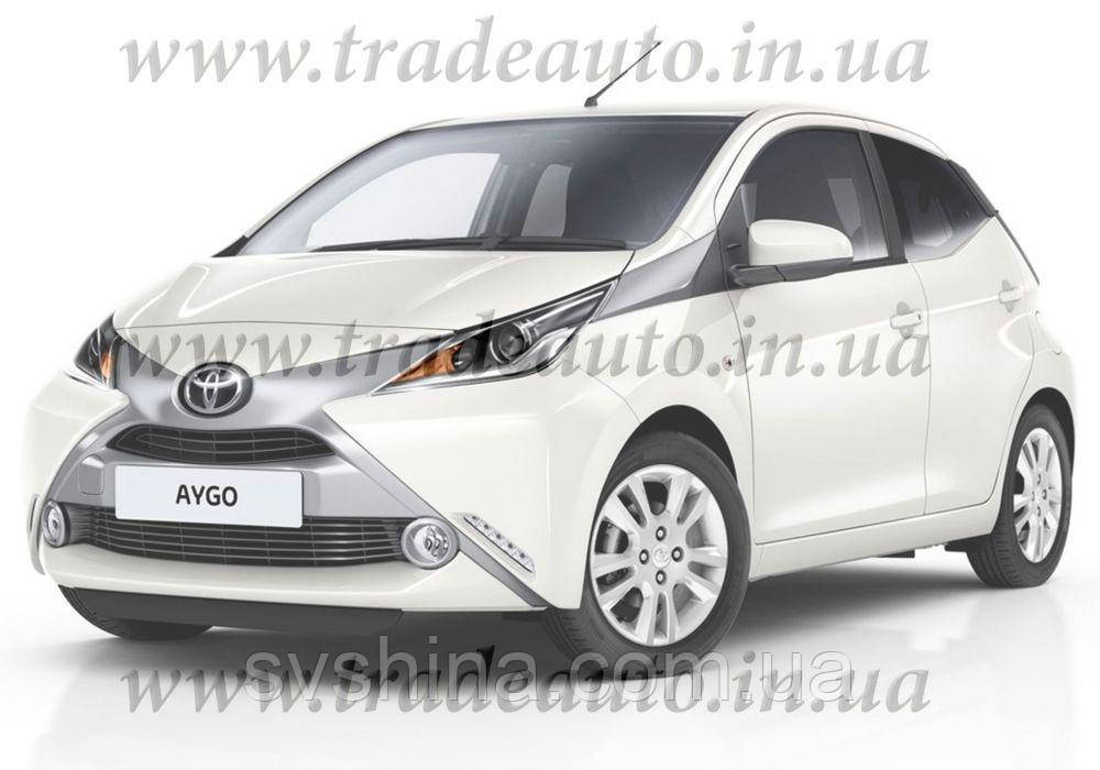 Дефлекторы окон Heko на Toyota  Aygo 2014->