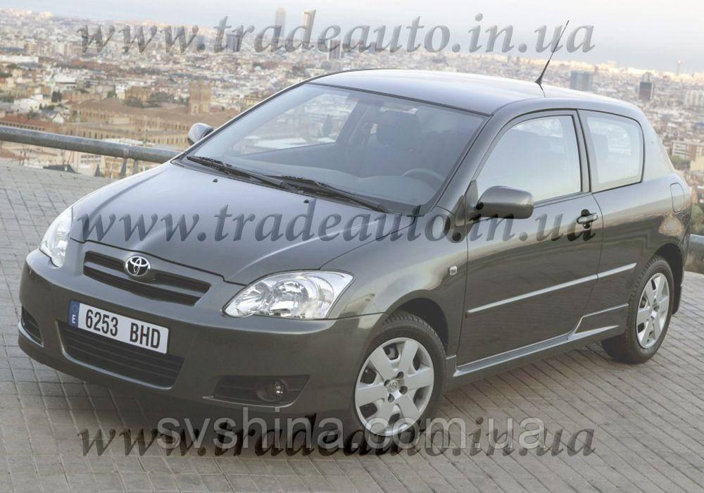 Дефлекторы окон Heko на Toyota  Corolla E12 2002-2007