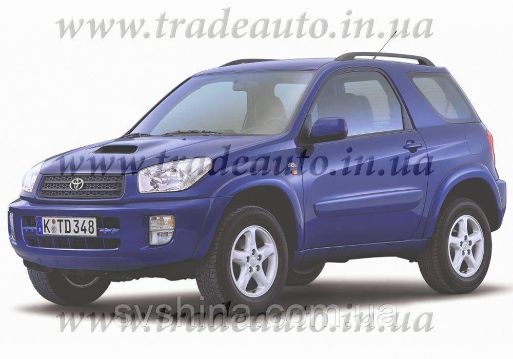 Дефлекторы окон Heko на Toyota  RAV-4 2000-2005 3D