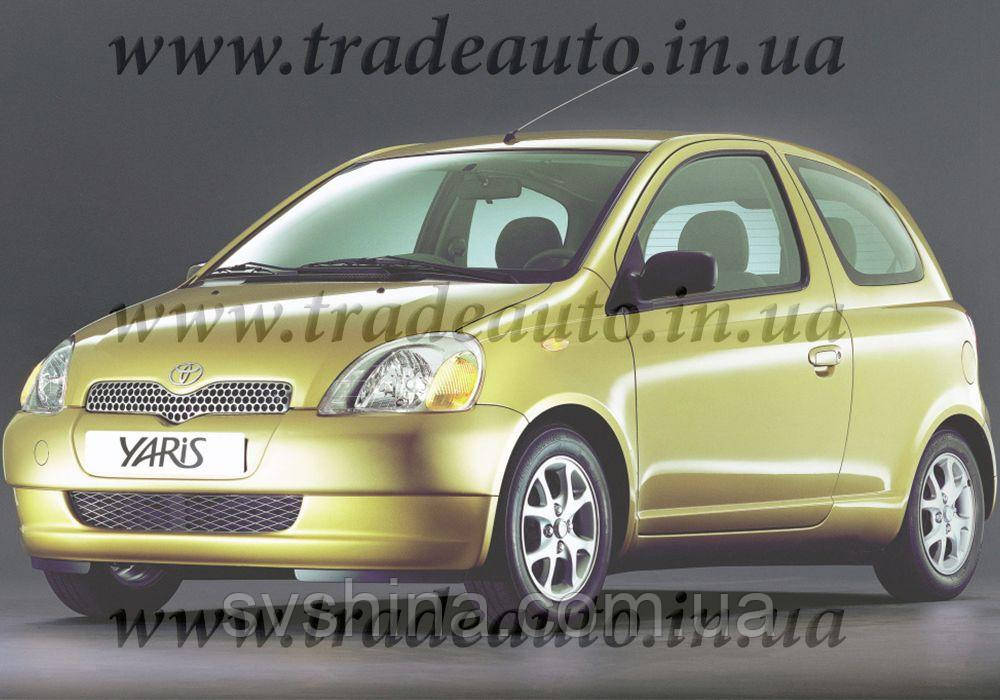 Дефлекторы окон Heko на Toyota  Yaris 1999-2001 3D