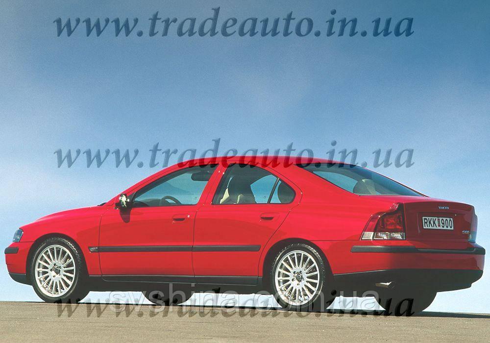 Дефлекторы окон Heko на Volvo  S60 2001-2010