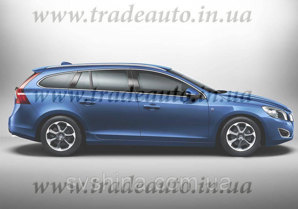 Дефлекторы окон Heko на Volvo V60 2010->