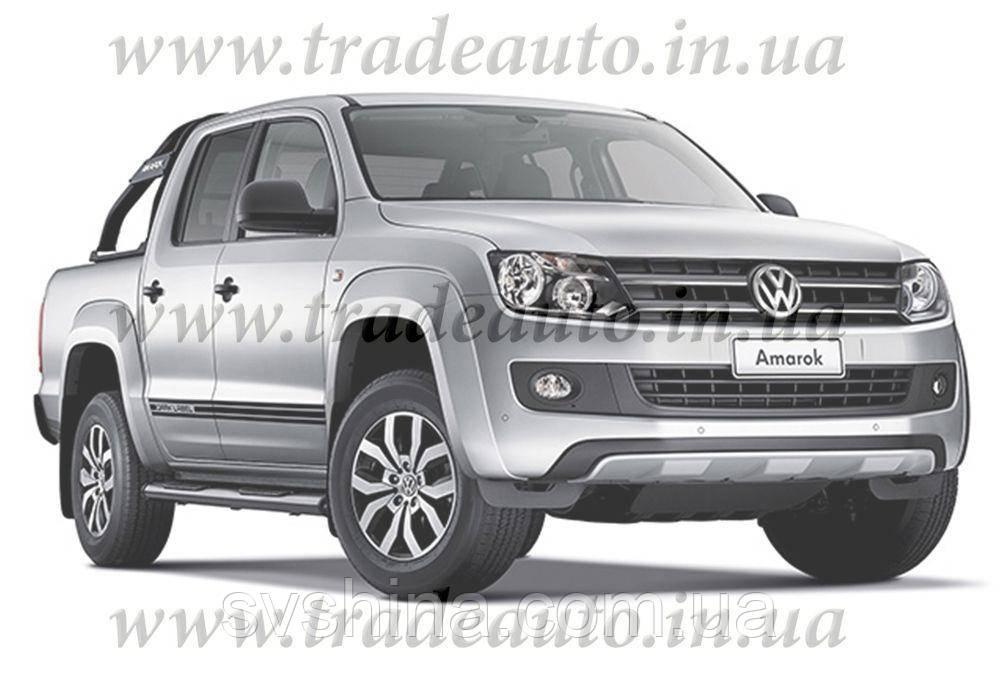 Дефлекторы окон Heko на VW  Amarok 2009->