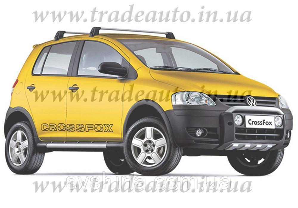 Дефлекторы окон Heko на VW  Fox 2005 -> 3D