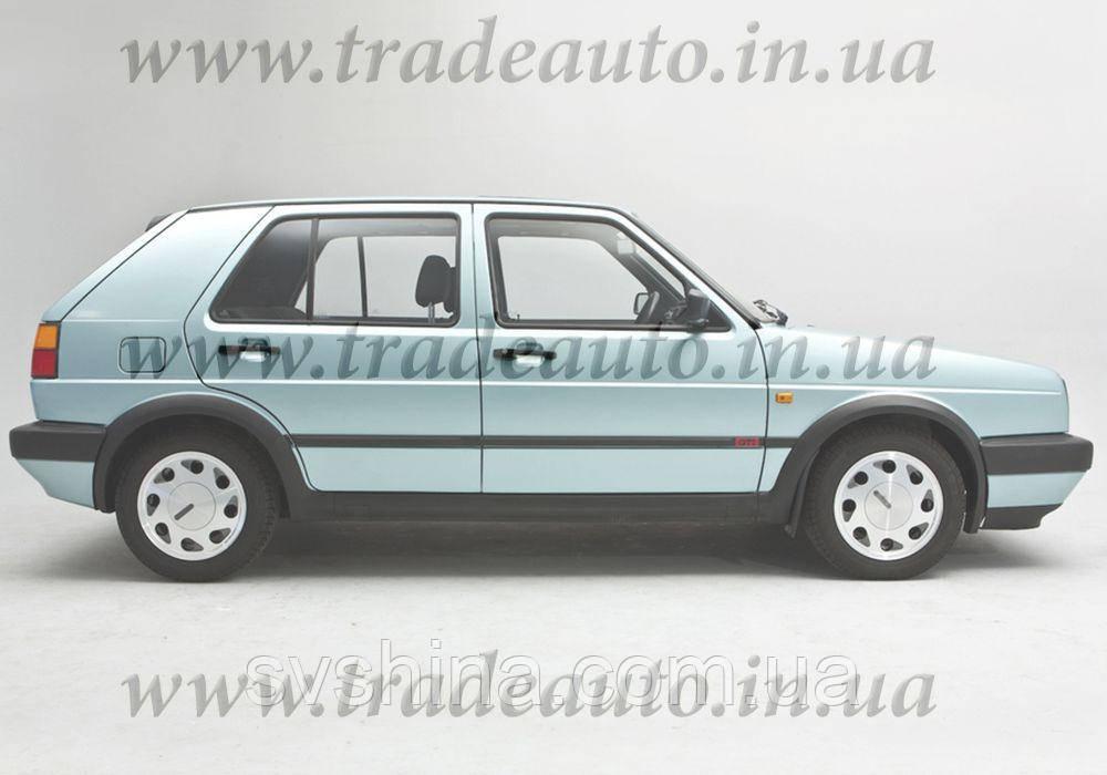 Дефлекторы окон Heko на VW  Golf-2 1983-1987 (стекло разделено)