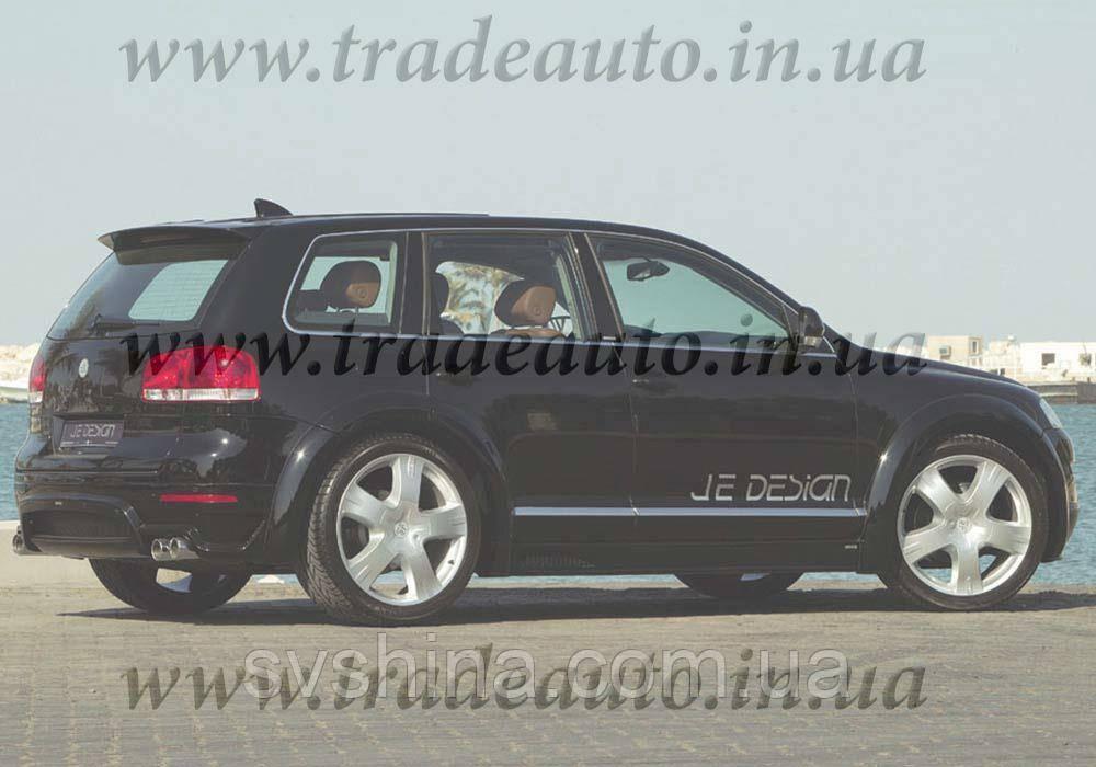 Дефлекторы окон Heko на VW  Touareg 2003-2010