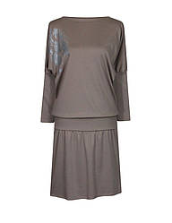 Платье летучая мышь Лилея / разм. до 64+ / женское с напуском / больших размеров /