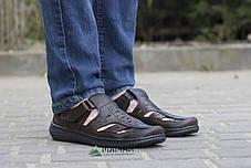 Сандалии мужские коричневые 40р, фото 2