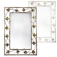 Зеркало в кованой раме V.I.T. 95х67х1.5 Золотистый (M-058) КОД: M-058