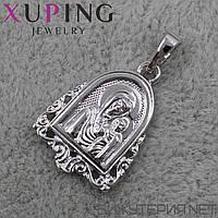 Иконка Xuping медицинское золото 20 х 13 мм