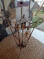Зонтница ковка квадратная Коричневый  КОД: M-032
