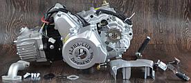 Двигатель DELTA ALFA ACTIVE - 125 ( механика) алюминиевый цилиндр (21ма)