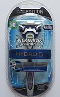 Бритвенный станок Wilkinson Sword (Schick) HYDRO 5 (с 1 кассетой)