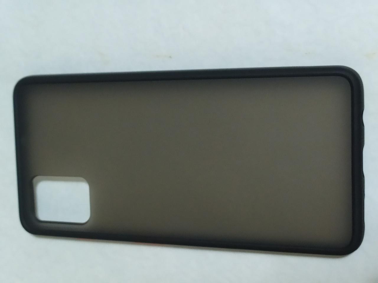 Чехол накладка  Totu Gingle Series Samsung A51 (черный)