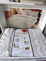 Нежное трикотажное постельное белье Altinbasak производство Турция Евро