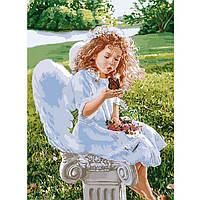 Картина по номерам Дыхание ангела ТМ Идейка 40 х 50 см КНО2330, фото 1
