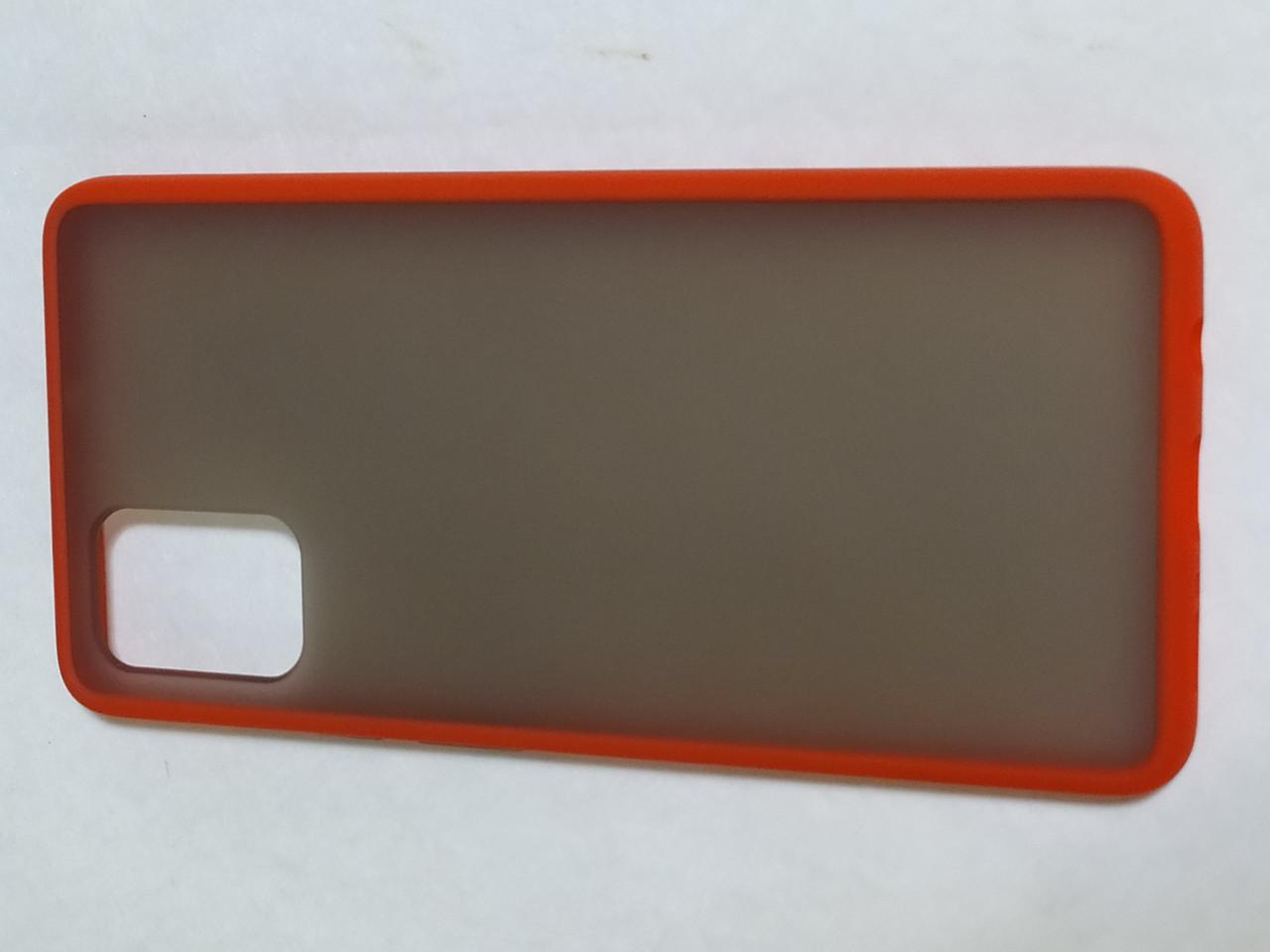 Чехол накладка  Totu Gingle Series Samsung A71 (красный)