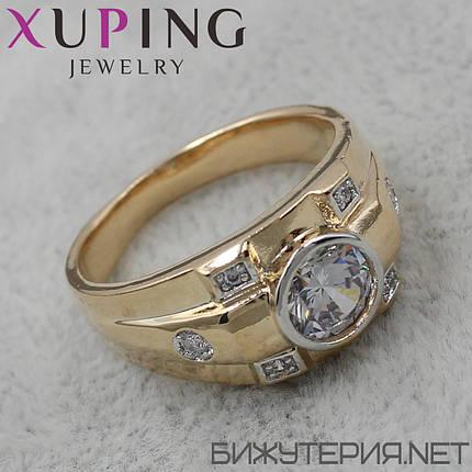 Перстень Xuping медицинское золото, фото 2